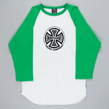 Independent Truck Co Raglan T-Shirt White Green skateboard