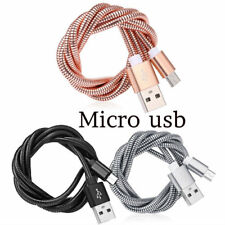 Micro USB Sync Charger Data Cable Metal Cable For Android Mobiles and Tablet