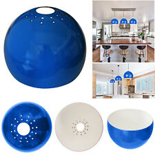 Retro Domed Ceiling Light Pendant Round Lamp Shade Easy Fit Home Lampshade Color