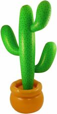 Inflatable Blow Up Cactus 86cm Mexican Props Toy Party Decoration Accessory