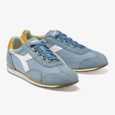 Sneakers scarpe DIADORA HERITAGE Equipe Stone Wash 12 Blue shadow/sanflower 2018