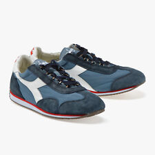 Sneakers scarpe DIADORA HERITAGE Equipe Stone Wash 12 China Blue/Blue Denim 2018
