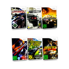 Wii Rennspiel Need for Speed Carbon Hot Pursuit Nitro Pro Street Undercover