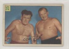 1955 1955-56 Parkhurst Wrestling #25 Lee Henning Fred Atkins Card