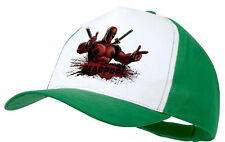 CAPPELLO DEADPOOL HERO LOCO GIOCHERELLONA VERDE GREEN CAP ES