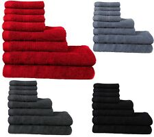 MHC 4 and 8 Pcs Cotton Towel Set Bath Towels Hand and Face Cloth Bath Sheet