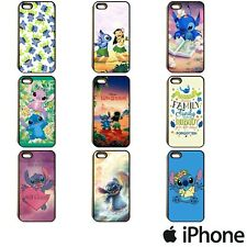 LILO AND STITCH CUTE DISNEY MOVIE OHANA PHONE CASE COVER FOR APPLE iPhone