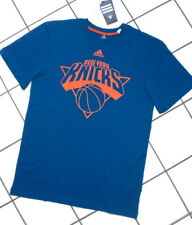 Adidas New York Knicks SPORT TEMPO LIBERO T-shirt Basket NBA TOP Uomo