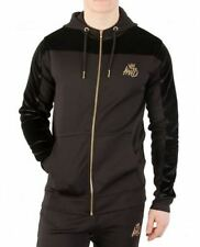 Kings Will Dream Searles Poly/Velour Hoodie, Black