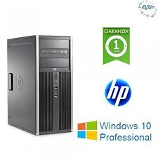PC HP Compaq 8000 ELITE  Core 2 Duo E8400 3.0GHz 4Gb RAM 320Gb  DVD Windows 10 P