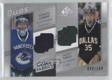 2008-09 SP Game Used Edition #AF2-LT Roberto Luongo Marty Turco Hockey Card