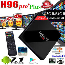 H96 Pro Plus Android Smart Tv Box 7.1 Amlogic S912 Octa Core 3G/64G Dual Wifi 4K