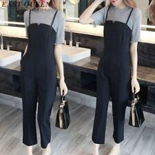 Fashion Jumpsuit New Arrival Casual Woman Elegant Solid Color Rompers Suspenders