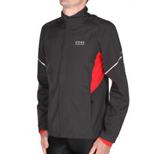 Gore Running Essential Windstopper ActiveShell Partial Jacket Raven Brown Jacke