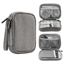 Travel Electronic Accessories Cable Organizer Bag Portable Case SD Cards storage