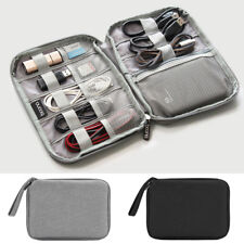 Portable Travel Digital USB Cable Storage Bag Electronic Accessories Organizer