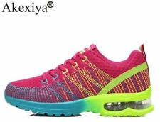 Akexiya Colorful Running Shoes Women Sport Shoes Breathable Wave Summer Sneakers
