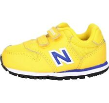 SCARPE NEW BALANCE KV500YLI KIDS ENFANT MODA BIMBO FASHION SPORTSTYLE YELLOW