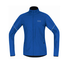 Gore Running Essential Windstopper Active Shell Partial Jacket Brilliant Blue