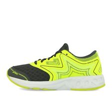 Asics Noosa GS Carbon Safety Yellow Mid Grey Kinder Laufschuhe Neon Gelb Grau
