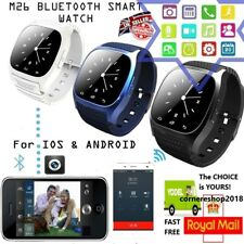 M26 Bluetooth Wrist Smart Watch Phone Mate Sync For iPhone Samsung Android IOS