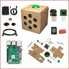"Google AIY Voice Raspberry Pi 3 B+ (B Plus) Complete Kit - Create Your ""Alexa"""