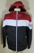 bnwt new MONCLER 'Gamme Bleu' Tricolour Jacket in Navy/Red/White by THOM BROWNE