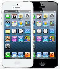 Apple iphone 5 16gb/32gb/64GB en Blanco & Negro - sin Bloqueo Sim - Smartphone