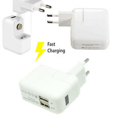 CARICATORE CARICABATTERIA 2 PORTE USB FAST CHARGE CARICA VELOCE LED DISPLAY