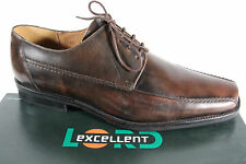 Lord EXCELLENT hommes Chaussures à lacets, basket chaussures plates marron, NEUF