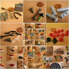 Playmobil Spares Choice Tools Weapons wing Mirror Radio Bike Clips Rotor Pins