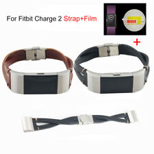 Replacement Leather Band for Fitbit Charge 2 Wristband Strap Accessory Bracelet