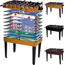 MULTI JEU 15 en 1, FOOTBALL de table KICKER billard hockey table de jeu