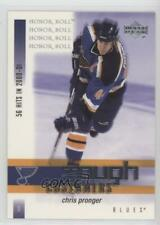 2001-02 Upper Deck Honor Roll Tough Customers #TC6 Chris Pronger St. Louis Blues