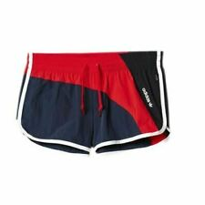 Adidas Archive Legend Ink Red Black Polyamide Womens Shorts AJ7202 EE36