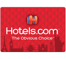 Hotels.com Gift Card $25, $50, or $100 - Fast email delivery