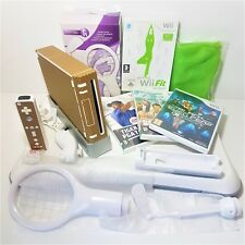 Customised NINTENDO Wii CONSOLE Bundle Package Set=Fit Balance Board+Sports Pack