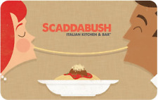 Scaddabush Italian Kitchen & Bar Gift Card $25, $50, or $100 - email delivery