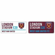 West Ham United FC- Targa decorativa ufficiale con stemma (SG11015)