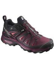 Salomon X Ultra 3 GTX Gore-Tex Scarpe Donna, Tawny Port/Black/Living Coral
