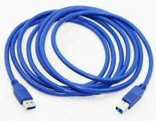 USB 3.0 A Male AM to USB 3.0 B Type Male BM Extension Printer Wire Cable Cord