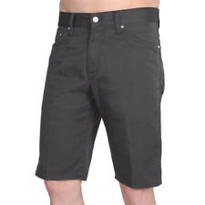 Carhartt WIP Davies Short Blacksmith Rinsed Herren Shorts Grau