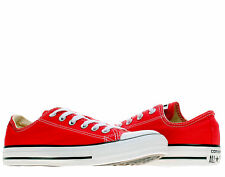 Converse Chuck Taylor All Star OX Red Low Top Sneakers M9696