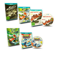 Wii U Rennspiel Mario Kart 8 Need for Speed Most Wanted Sonic & AllStars Racing