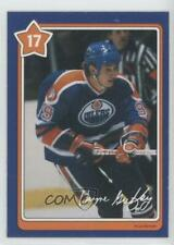 1982-83 Neilson Cookie Bar #17 Wayne Gretzky Edmonton Oilers Hockey Card