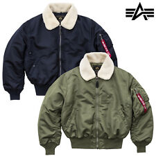 ALPHA INDUSTRIES giacca invernale uomo B 15 BOMBER Iniettore S fino a 5XL