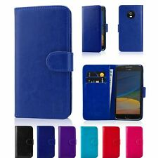 32nd Book Series – Synthetic Leather Flip Wallet Case Cover For Motorola Moto E5