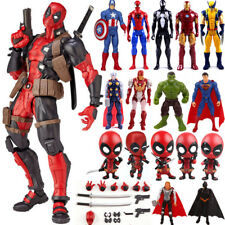 marvel avengers super eroe spiderman Deadpool Hulk ACTION FIGURE DA COLLEZIONE