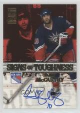 2003-04 Topps Signs of Toughness ST-SM Sandy McCarthy New York Rangers Auto Card