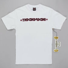 Independent Trucks Cross Bar T-Shirt White skateboard